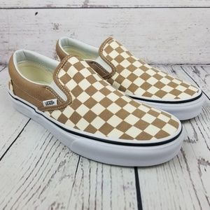 New Vans Checkerboard Slip-on Sneakers